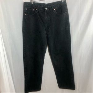 Levi's Jeans, Style 550, Relaxed Fit, Black, W 40
